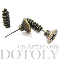 fake-gauge-screw-earrings-bronze