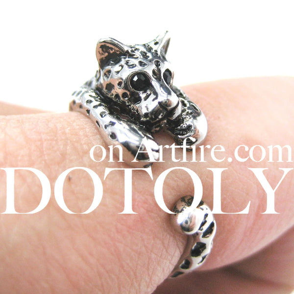 leopard-jaguar-animal-wrap-ring-in-shiny-silver
