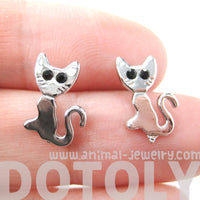 sale-abstract-kitty-cat-animal-stud-earrings-in-silver-animal-jewelry