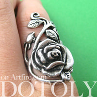 classic-rose-shaped-floral-vines-wrap-around-ring-in-silver-dotoly