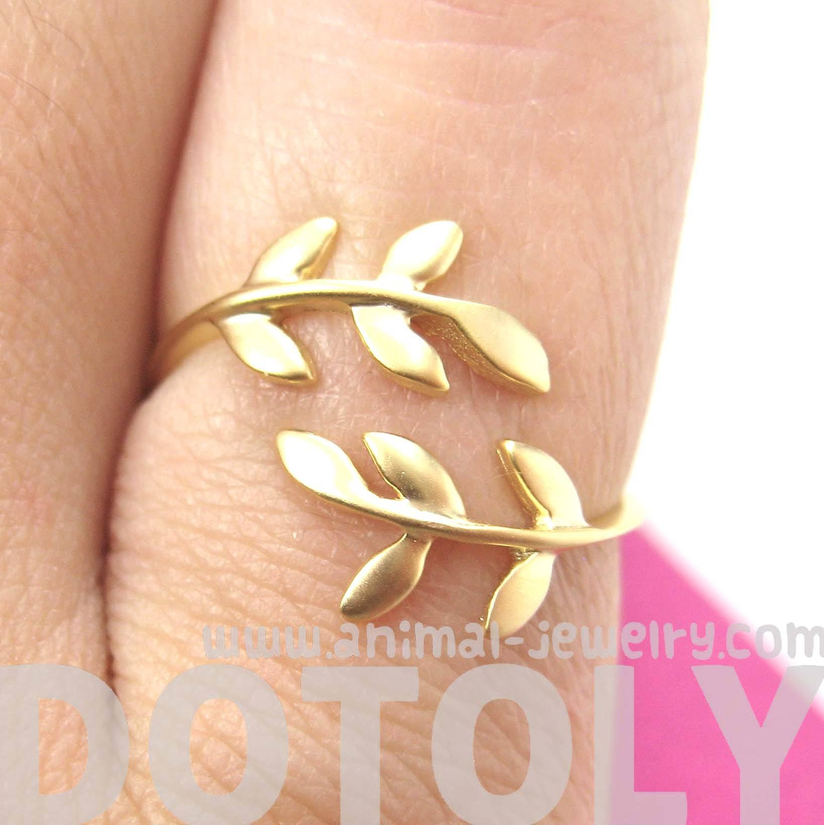 beautiful-floral-leaves-wrap-around-adjustable-ring-in-gold-dotoly