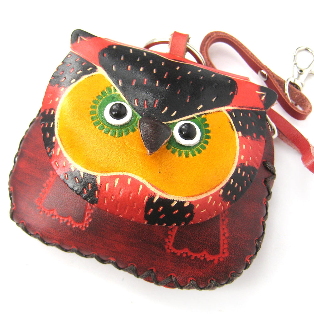 owl-bird-animal-coin-purse