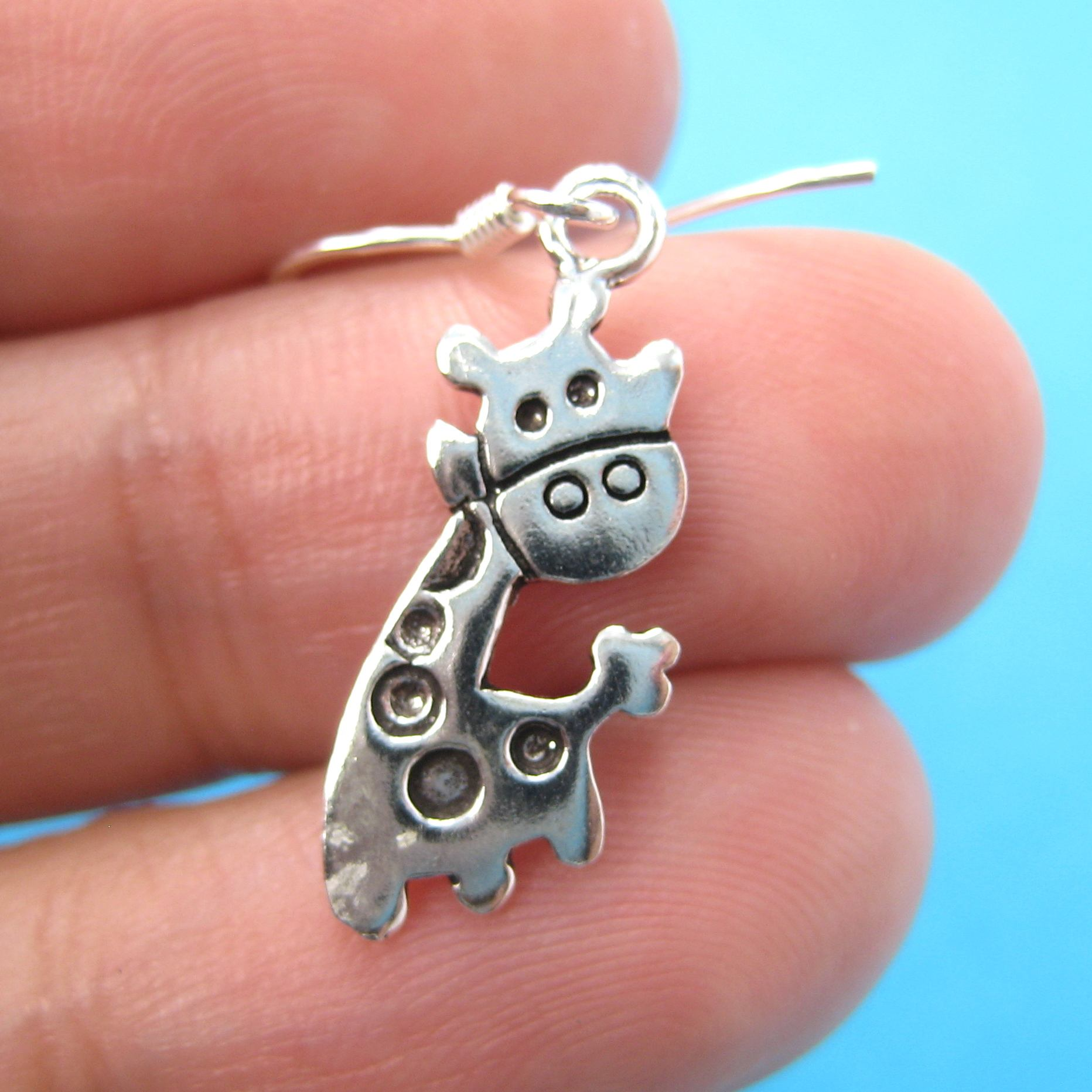 cute-giraffe-shaped-animal-dangle-earrings-in-sterling-silver