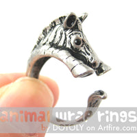 zebra-horse-animal-wrap-ring-in-silver