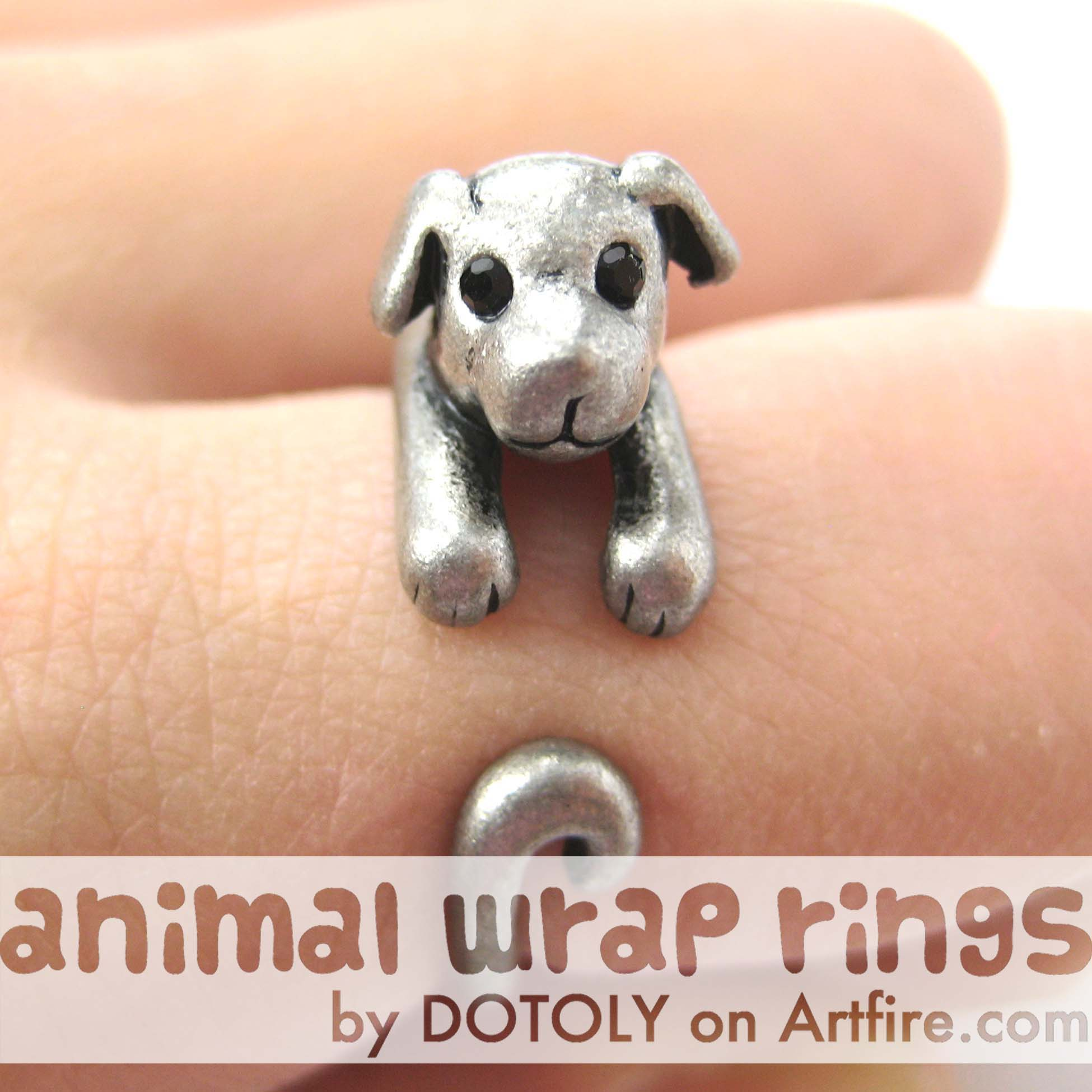 puppy-dog-animal-wrap-ring-in-silver