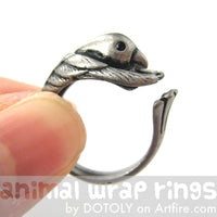 hummingbird-bird-animal-wrap-ring-in-silver