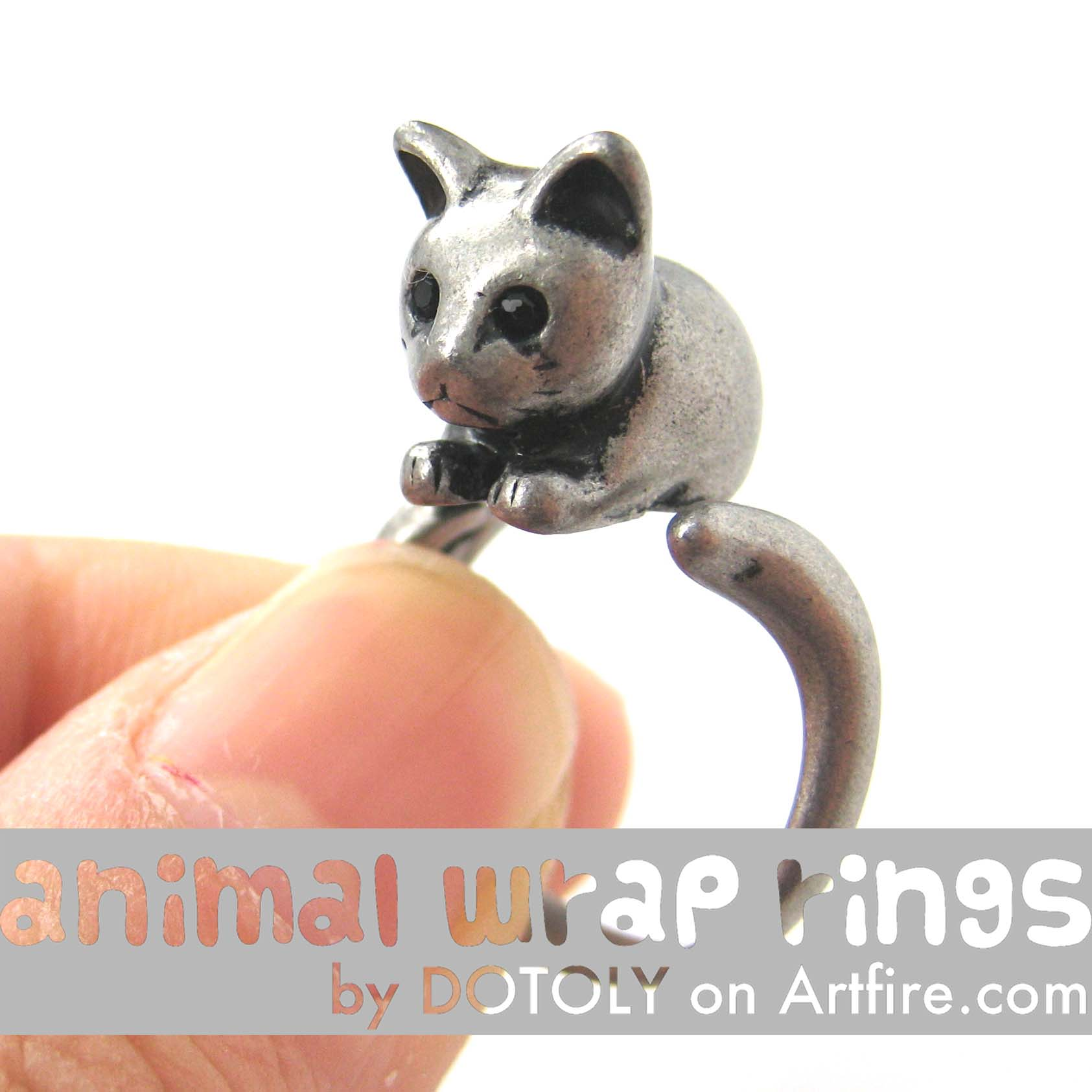 kitty-cat-animal-wrap-ring-in-silver