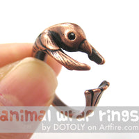 hummingbird-bird-animal-wrap-ring-in-copper
