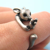bunny-rabbit-animal-wrap-ring-with-carrot