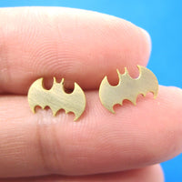 bat-silhouette-symbol-batman-logo-stud-earrings-in-gold-allergy-free
