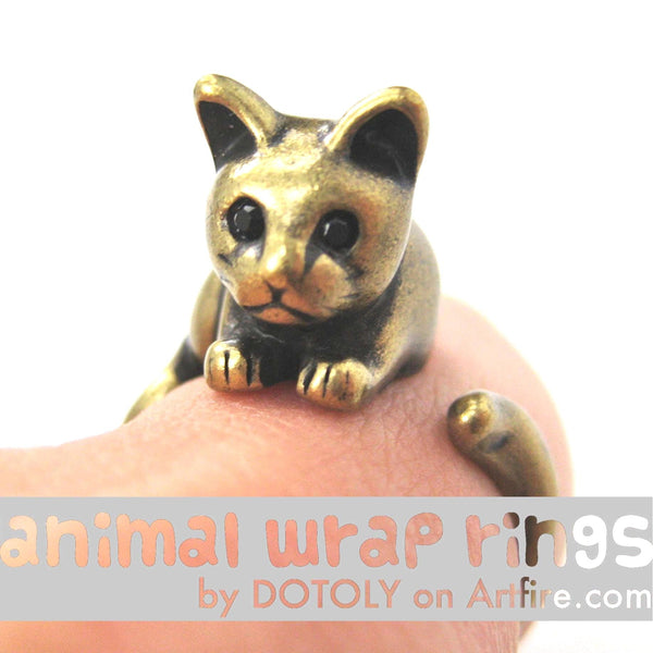 kitty-cat-animal-wrap-ring-in-brass