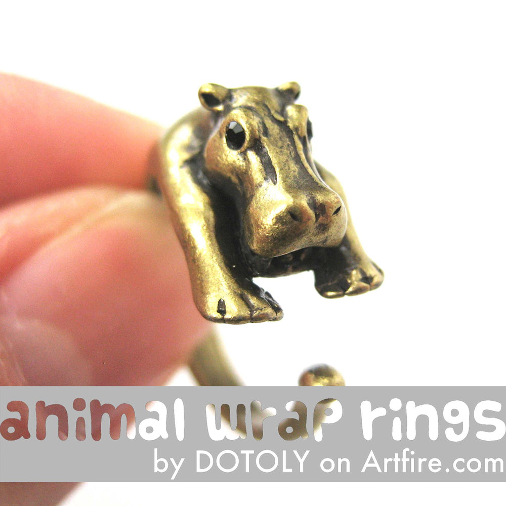 hippo-hippopotamus-animal-wrap-ring-brass