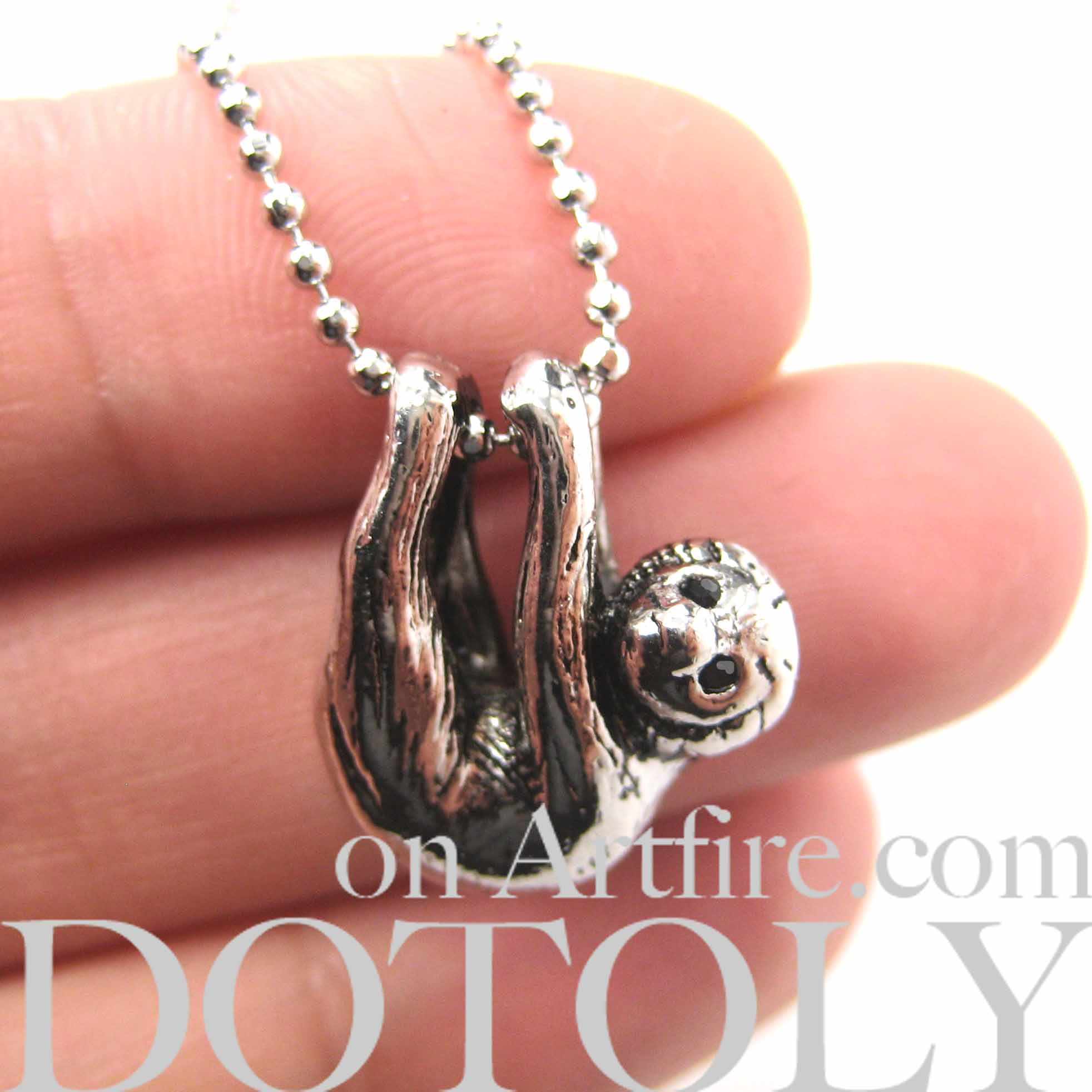 sloth-baby-animal-pendant-necklace