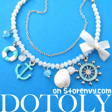 anchor-nautical-charm-bracelet-in-blue-and-white-dotoly