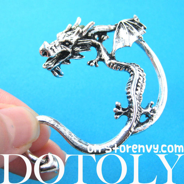 dragon-detailed-animal-wrap-ear-cuff-in-silver