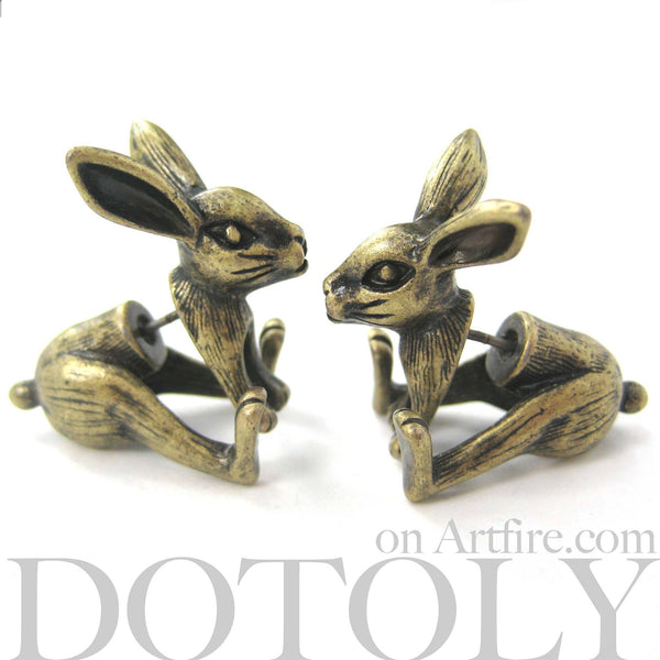 bunny-rabbit-animal-fake-gauges-brass