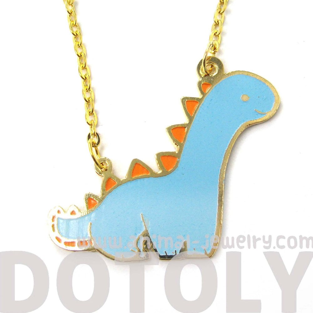 adorable-brontosaurus-dinosaur-shaped-animal-pendant-necklace-limited-edition