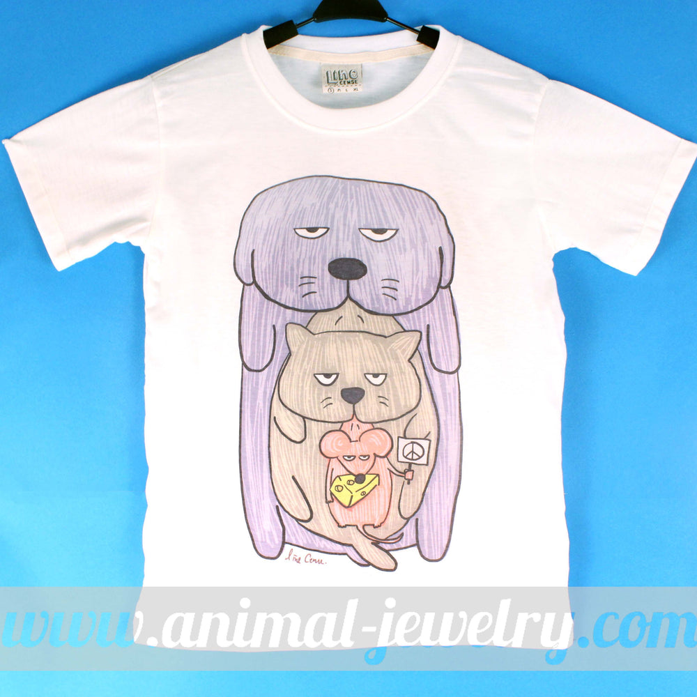 adorable-dog-cat-and-mouse-hand-drawn-illustration-animal-graphic-tee