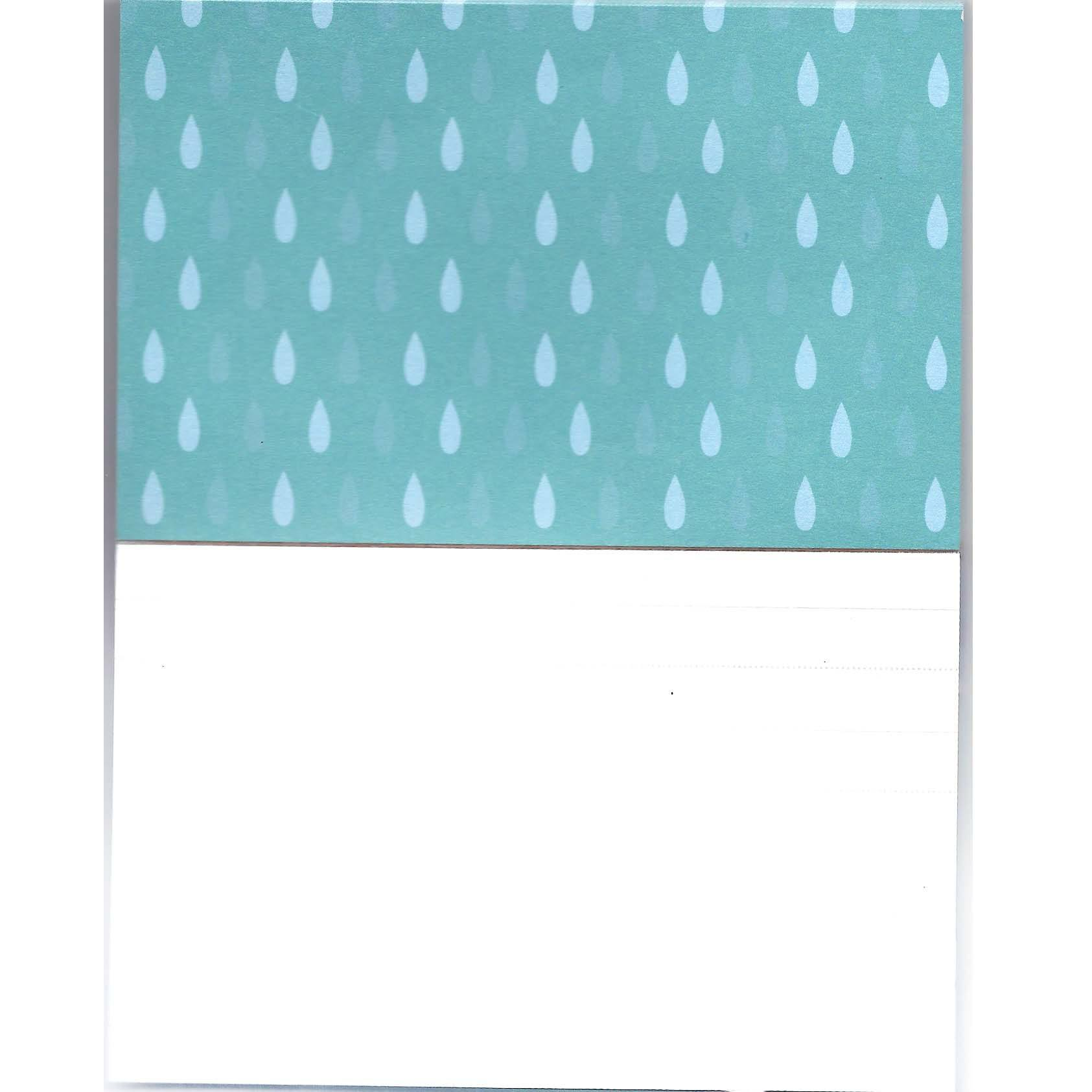 Adorable Dolphin Sea Animal Shaped Memo Lined Notepad | 80 Pages