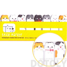 Adorable Kitty Cat Shaped Animal Memo Post-it Index Tab