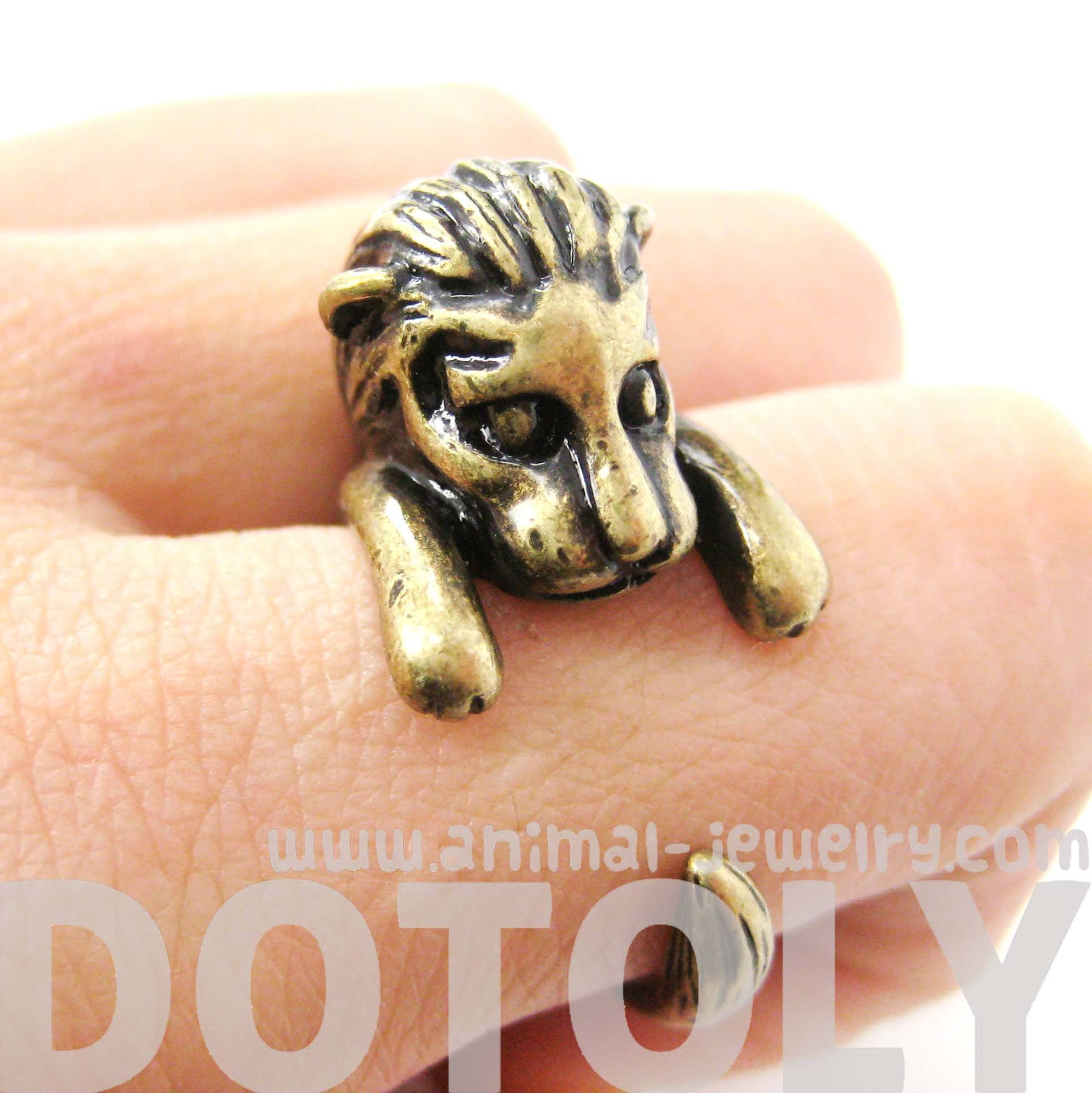 adorable-lion-shaped-animal-wrap-ring-in-brass-us-sizes-7-to-9