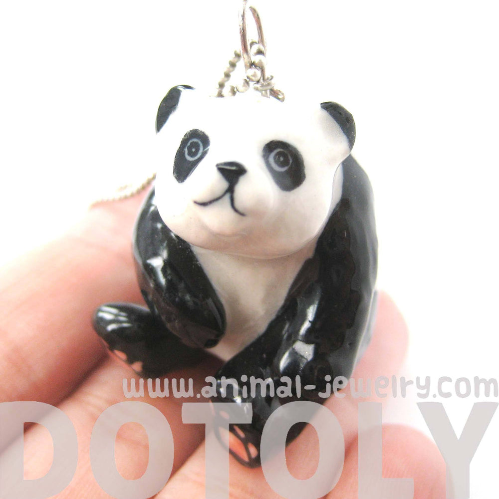 adorable-panda-bear-porcelain-ceramic-animal-pendant-necklace-handmade