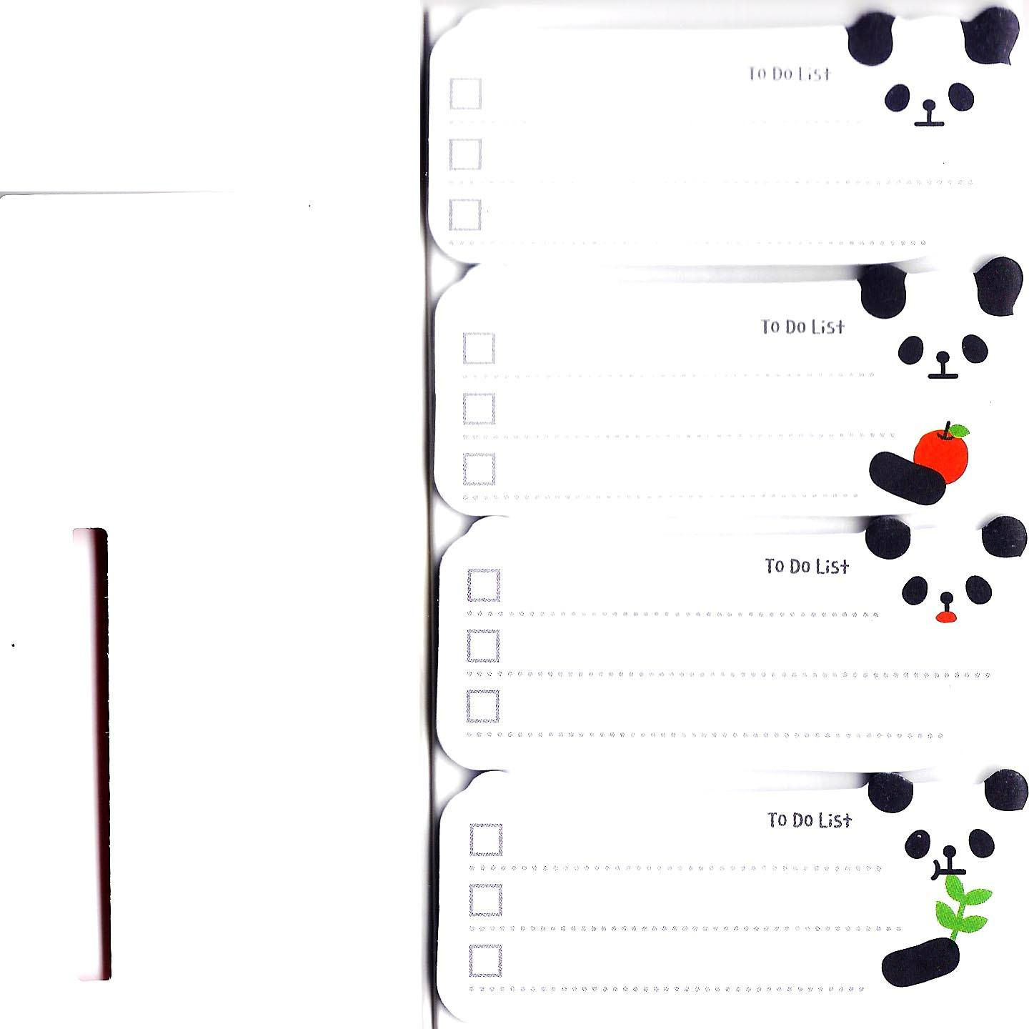 Adorable Panda Bear Shaped Animal Themed Memo Post-it Sticky Note Pad