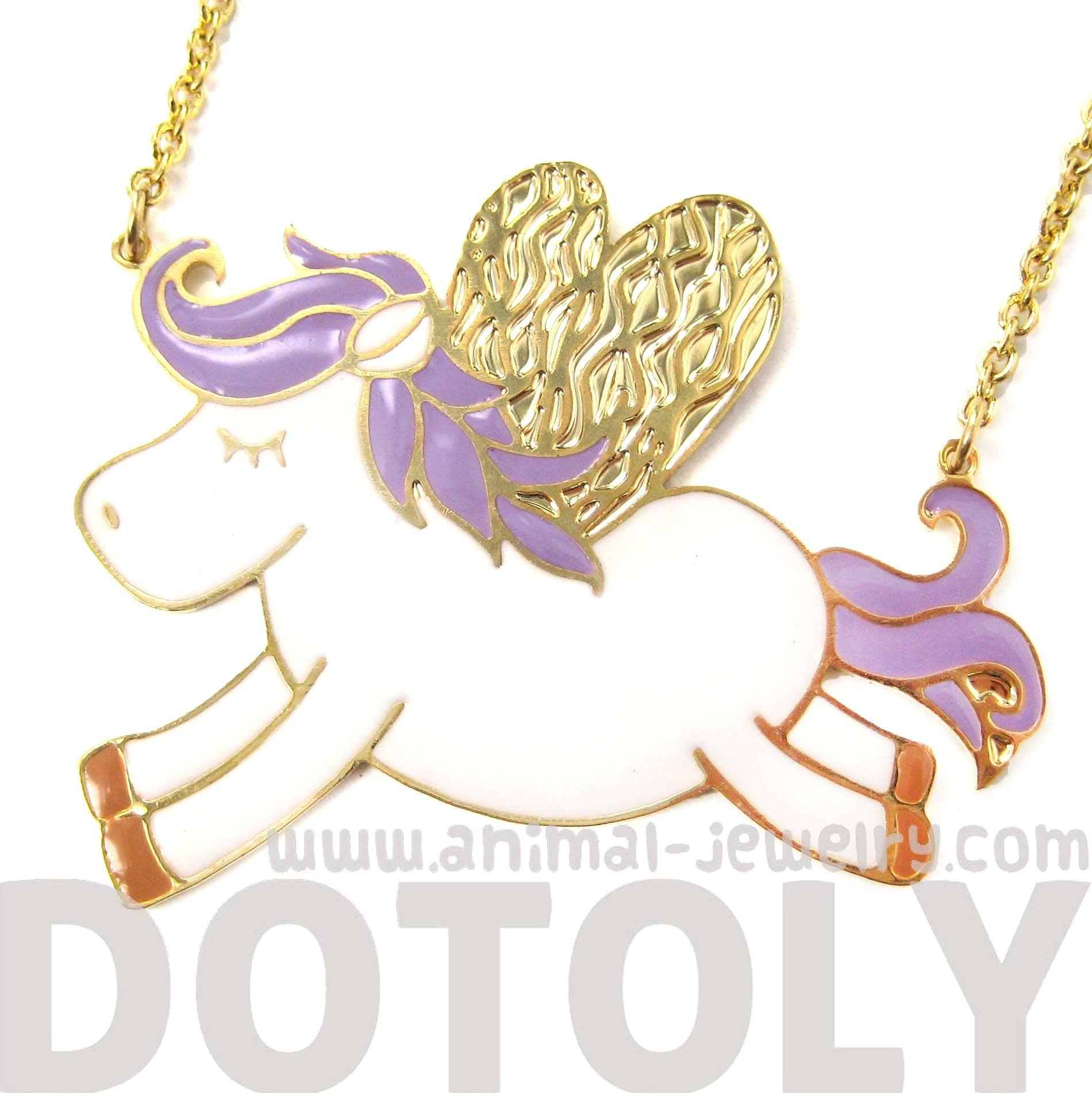 adorable-pegasus-horse-animal-pendant-necklace-in-purple-on-gold-limited-edition