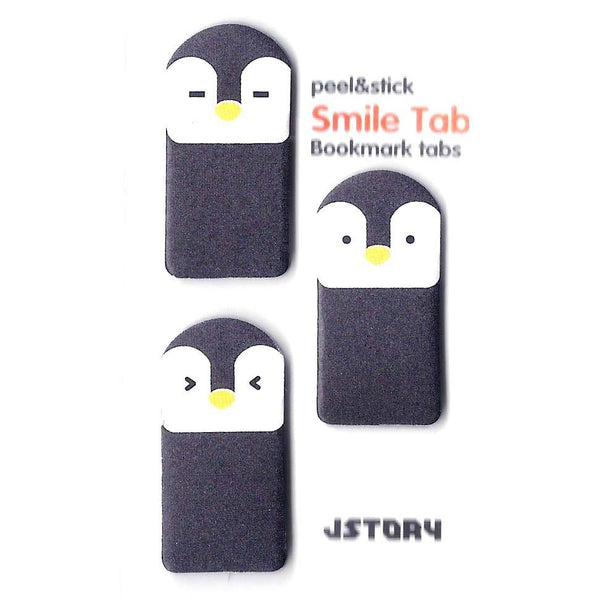 Penguin Shaped Animal Themed Memo Post-it Sticky Bookmark Tabs