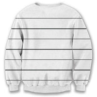 Adorable Pug Puppy Bad Dog Prison Mug Shot Sweatshirt