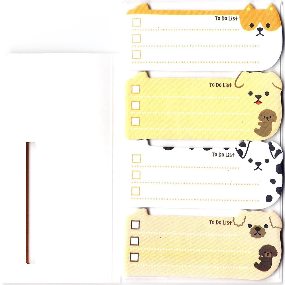 Adorable Puppy Dog Shaped Animal Themed Memo Post-it Sticky Note Pad