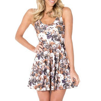 adorable-puppy-mixed-dog-breed-collage-all-over-print-sleeveless-skater-dress