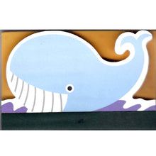 Adorable Whale Sea Animal Shaped Memo Lined Notepad | 80 Pages