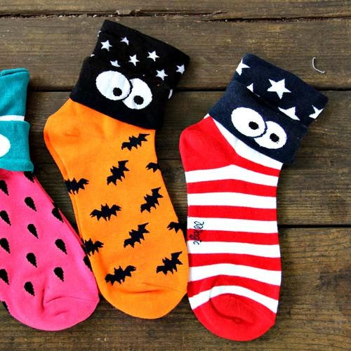 american-flag-star-and-stripes-googly-eye-flip-short-cotton-socks-for-women-dotoly