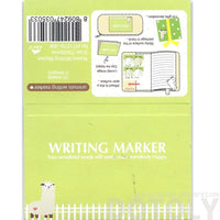 llama Alpaca Sheep Shaped Memo Pad Post-it Index Tab Sticky Notes