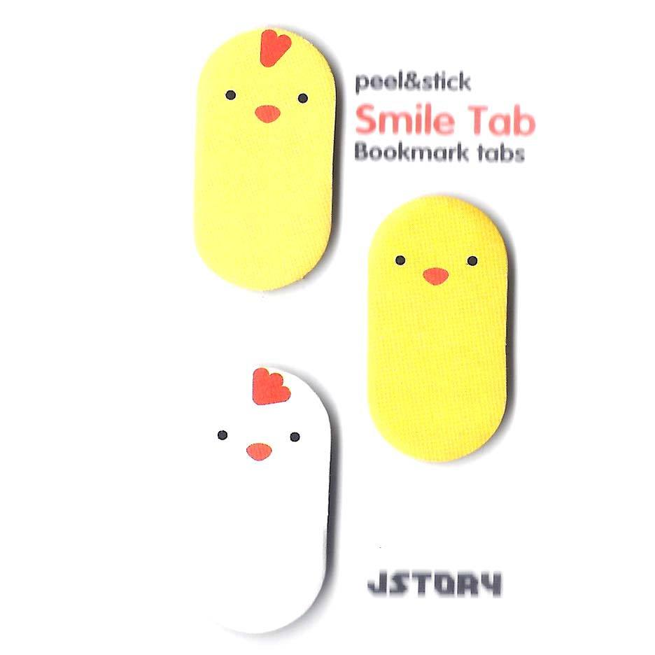 Baby Chicken Bird Shaped Animal Themed Memo Post-it Sticky Bookmark Tabs