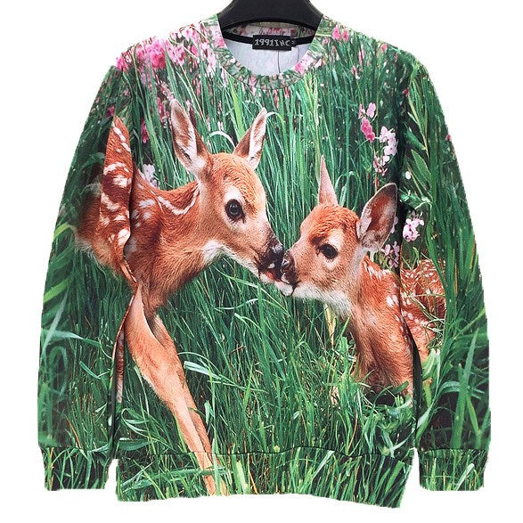 bambi-deer-digital-graphic-print-pullover-sweater-for-women-dotoly