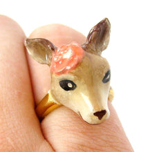 bambi-deer-shaped-enamel-animal-ring-with-floral-detail-in-size-6-limited-edition