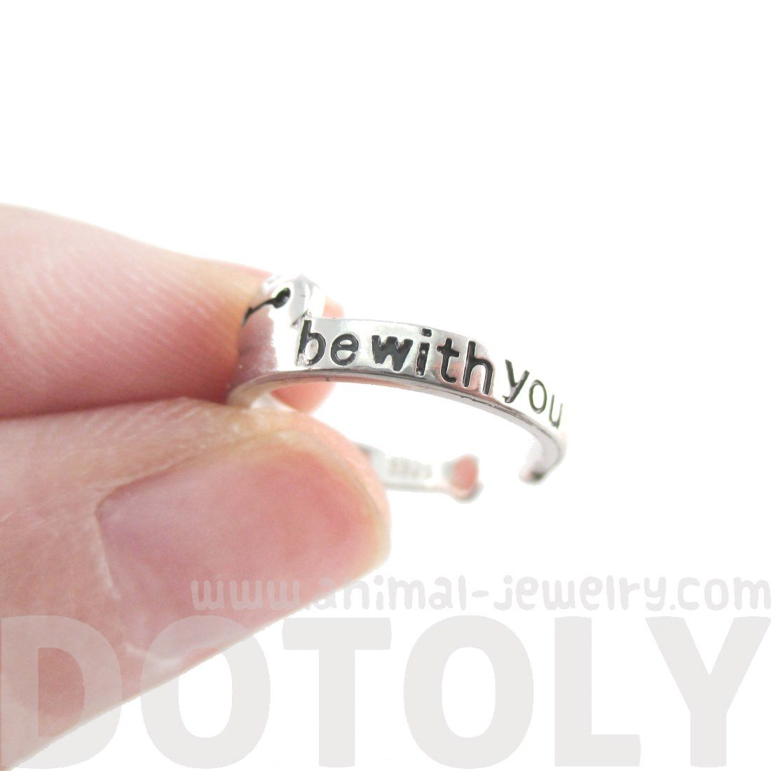 Big Hero 6 Baymax I'll Always Be With You Quote Ring