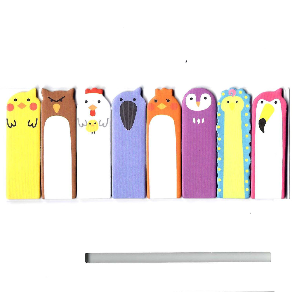 bird-animal-themed-memo-pad-post-it-index-tab-sticky-bookmarks