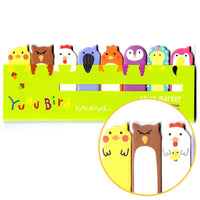 Bird Animal Themed Memo Pad Post-it Index Tab Sticky Bookmarks | DOTOLY