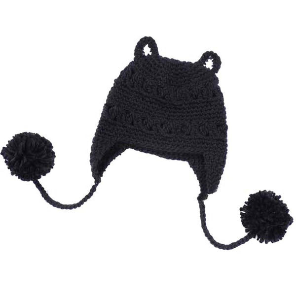 black-or-beige-animal-themed-knit-beanie-hat-with-cat-ears-for-women-with-pom-poms