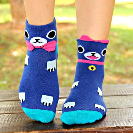 blue-kitty-cat-shaped-animal-short-cotton-socks-for-women-dotoly