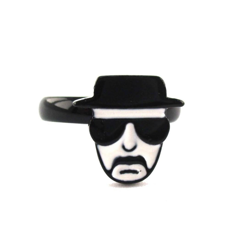 Breaking Bad Walter White Heisenberg Kingpin Adjustable Ring | DOTOLY