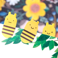 Bumble Bee Shaped Animal Themed Memo Post-it Sticky Bookmark Tabs