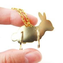 bunny-rabbit-shaped-animal-puzzle-pendant-necklace-in-gold-limited-edition