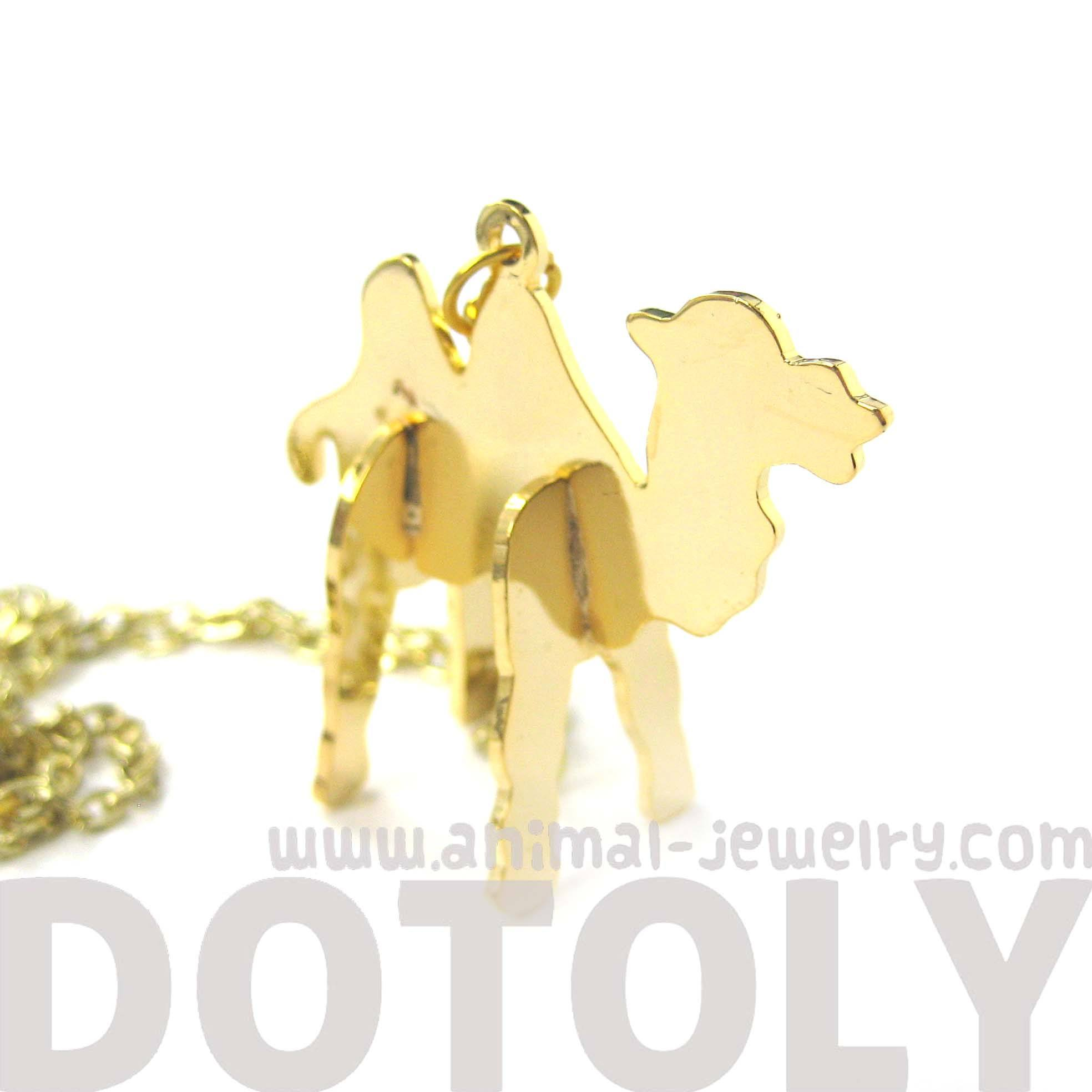 camel-shaped-animal-puzzle-jigsaw-pendant-necklace-in-gold-limited-edition