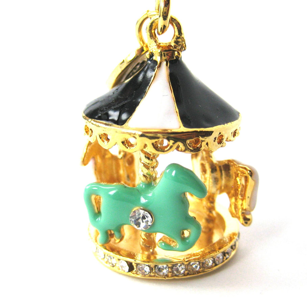 carousel-merry-go-around-pendant-necklace