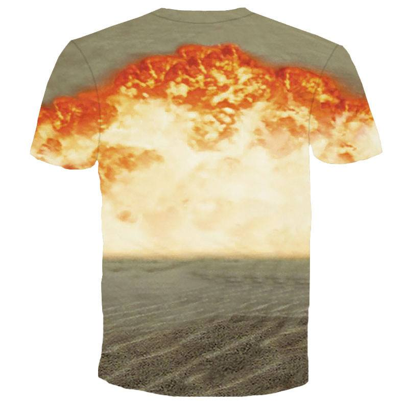 Catsplosion Kitty Cat Explosion Print Graphic T-Shirt