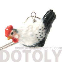 chicken-rooster-bird-porcelain-ceramic-animal-pendant-necklace-handmade